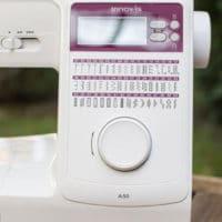 Máquina de coser doméstica Brother A50