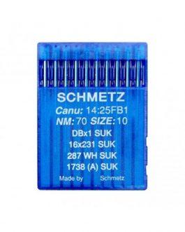 Agujas Schmetz 16x231 N70 SUK