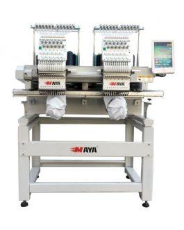 Máquina de bordar dos cabezas Maya TCL-1202
