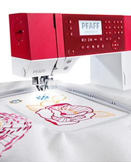 PFAFF Creative 1.5 máquina de coser y bordar