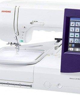 Máquina de coser y bordar Janome MC9850 + Artistic Digitalizer Jr.